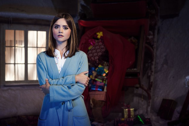 Jenna Coleman was 'to-ing and fro-ing' on Doctor Who series 9