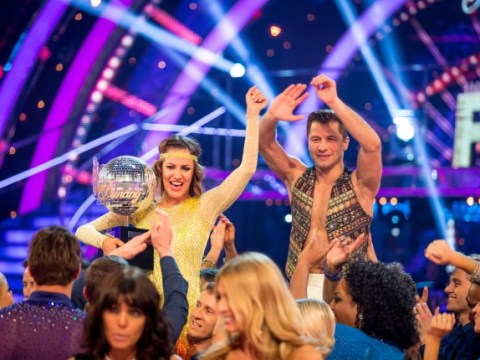 Strictly Come Dancing 2014 final: Who won? Caroline Flack lifts the trophy following a closely fought final