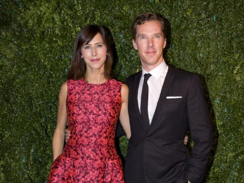 The Cumberbatches show they're more than keeping up with the Beckhams on the red carpet