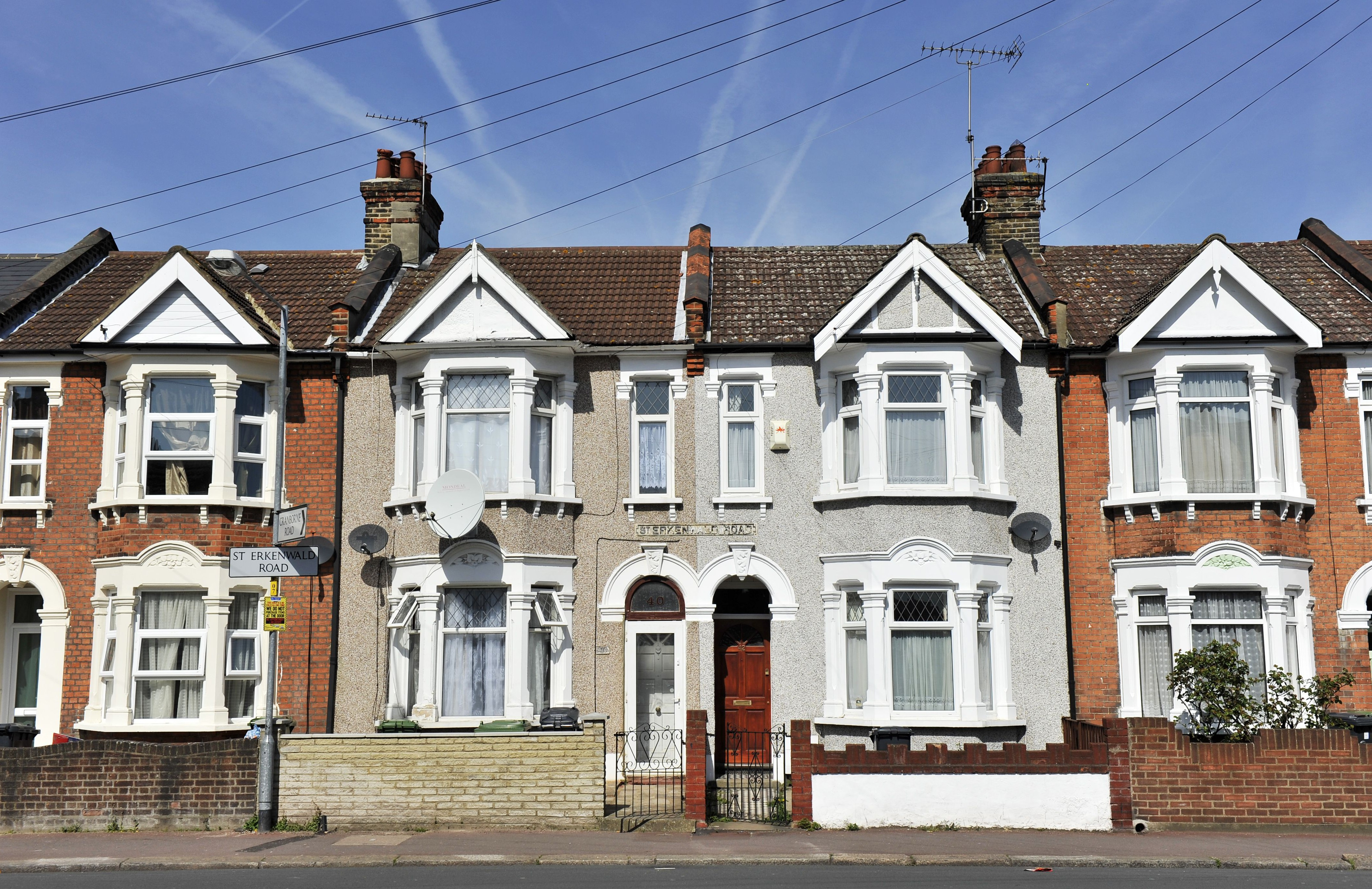 A street in Barking and Dagenham Picture: REX)