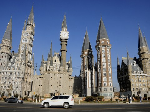 Chinese university builds 'Hogwarts-style castle' for its students
