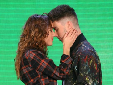 Could this routine have saved Stereo Kicks? X Factor rehearsal pics show raunchy moves Louis Walsh vetoed