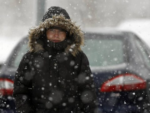 Up to 8 inches of snow could fall as wintry showers sweep across UK