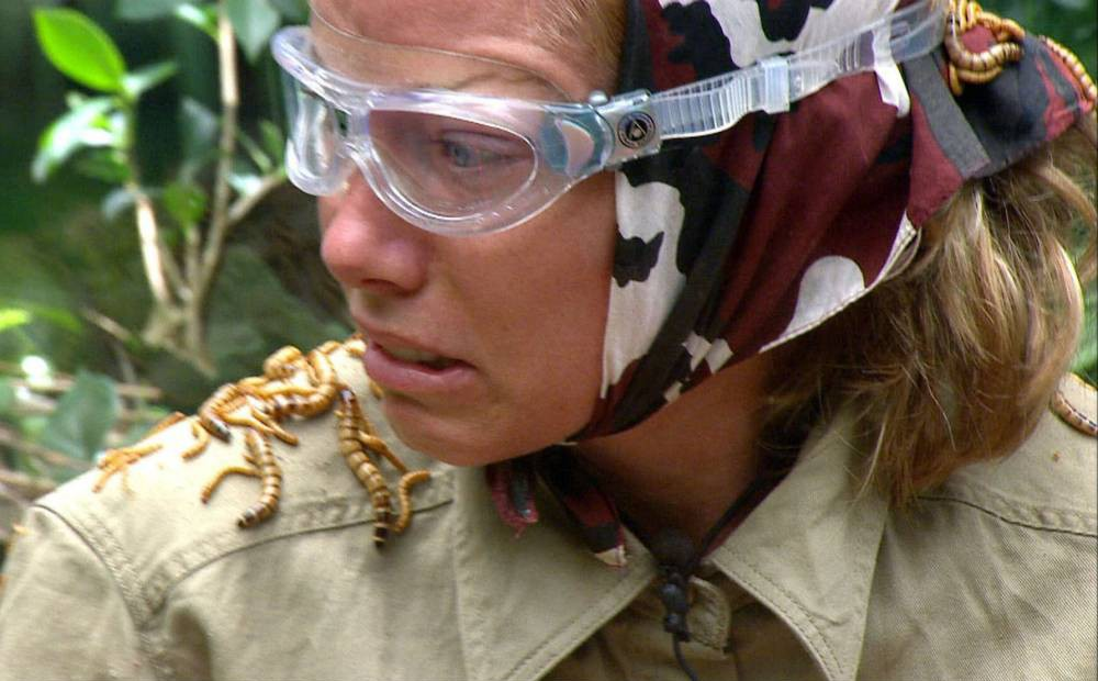 Kendra Wilkinson finally finds something she isn't scared of on I'm A Celebrity