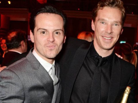 Awwwww, Benedict Cumberbatch and Andrew Scott were BFFs at the British Independent Film Awards
