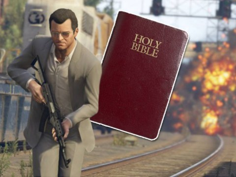 Grand Theft Auto V fans call for Bible to be banned