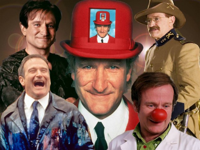 Robin Williams movies: Hook, Toys, Night At The Museum, Patch Adams, What Dreams May Come