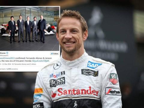 Jenson Button celebrates Fernando Alonso McLaren partnership with cheeky trolling tweet