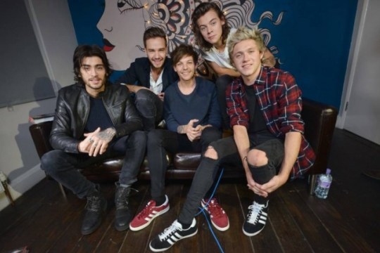 One Direction (Picture: Daniel Lynch)