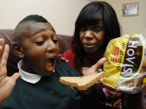 'I'm feeling sick just thinking about it': Mum horrified after her son discovers a spider in a loaf of Hovis