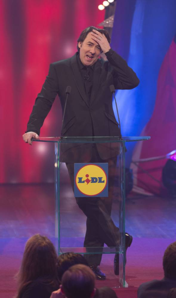 Graham Norton beats Jonathan Ross to be crowned king of comedy at British Comedy Awards 2014