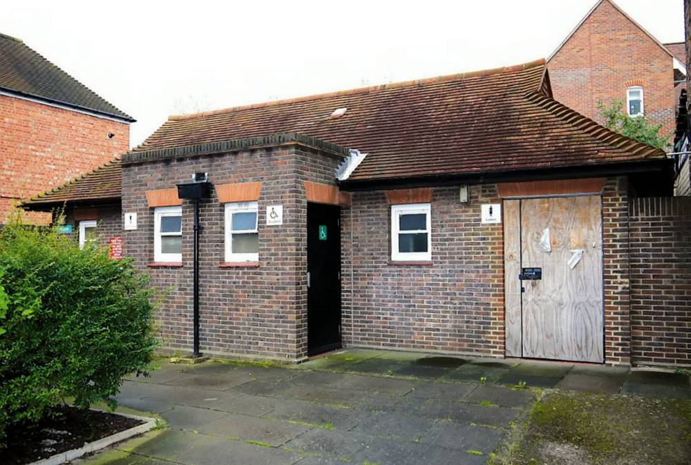 This former public toilet has sold at auction for an incredible £415,000 ñ the price of more than 800,000 loo rolls. See SWNS story SWTOILET: One lucky bidder snapped up the small toilet block in an exclusive commuter town, where the average house price is £500,000. The single storey loo block, in the Surrey town of Walton-on-Thames, sold for more times its estimate ñ despite having no planning permission. A spokesperson for auctioneers Allsopís, said: ìIt has great potential for redevelopment, subject to obtaining all necessary consents.î