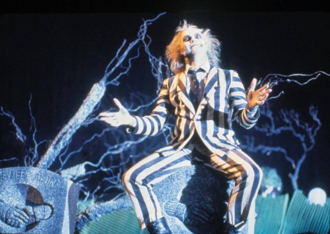 FILM BEETLEJUICE (1988) Thursday 3rd May 2004, 8pm....MICHAEL KEATON stars. Licensed by CHANNEL 5 BROADCASTING. Five Stills: 0207 550 5509. Free for editorial press and listings use in connection with the current broadcast of Channel 5 programmes only. This Image may only be reproduced with the prior written consent of Channel 5. Not for any form of advertising, internet use or in connection with the sale of any product....film