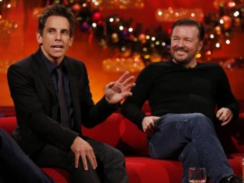 Graham Norton just ruined Ben Stiller's Christmas