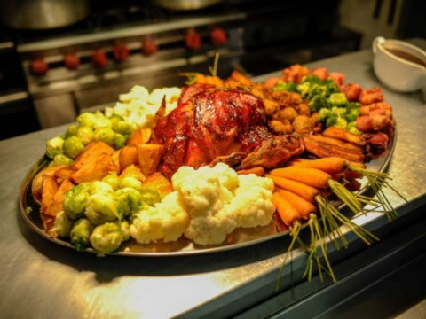 Elasticated pants at the ready: This is the world's biggest Christmas dinner