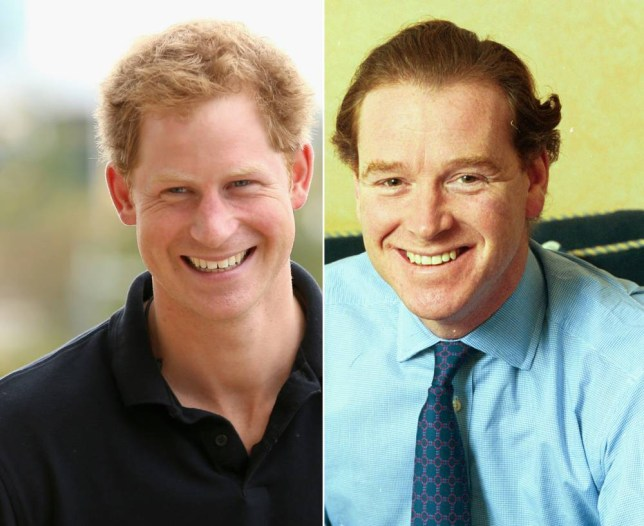 prince harry s father may be james hewitt writer claims metro news james hewitt writer claims