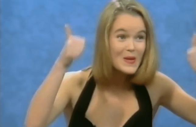 Amanda Holden Blind Date 1991