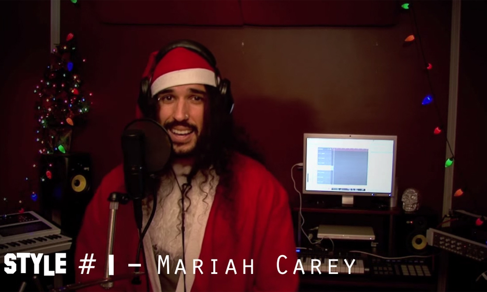 Now that's what we call a festive medley: watch All I Want For Christmas is You sung 20 different ways