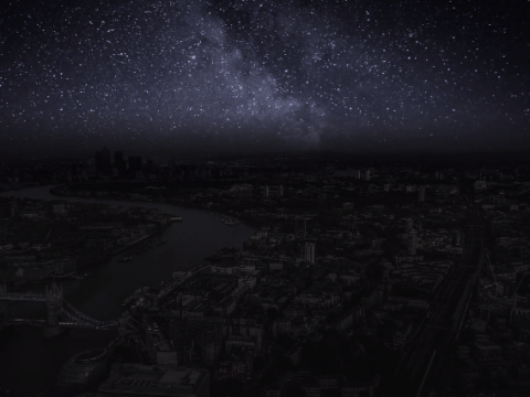 Live in the city and like stars- this photographer has made it happen