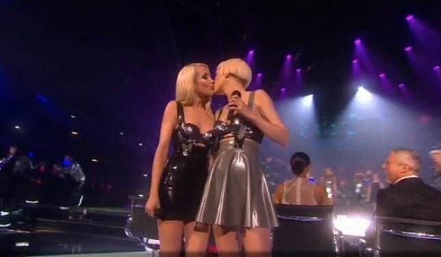 blonde electra, blonde electra kiss, x factor final