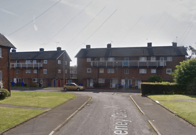 The man was assaulted at his home on Reney Crescent on Christmas morning (Picture: Google)