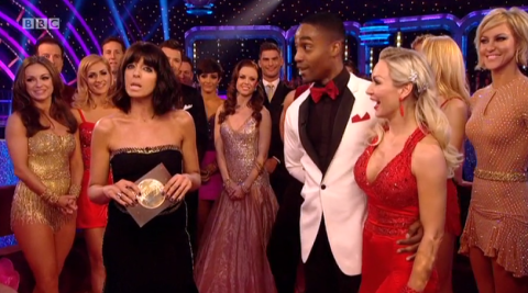 Did Claudia Winkleman just let the cat out of the Strictly Come Dancing bag?