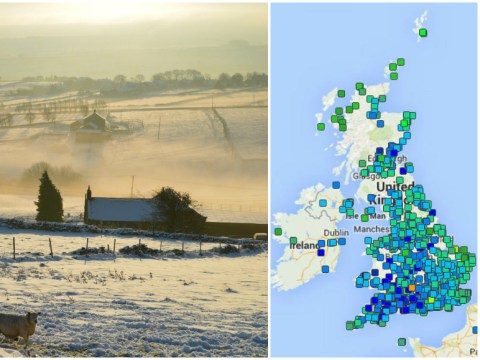 UK weather: Temperatures fall to lowest point of the year