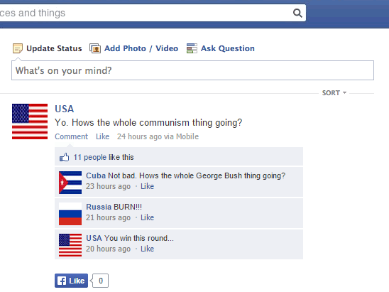 America and Cuba are international BFFs again: This is their Facebook story