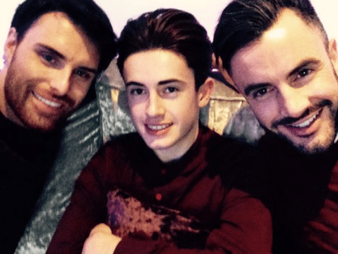 Rylan Clark: I look at Dan Neal's son like he's my own
