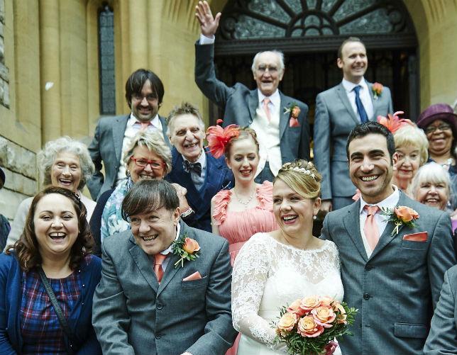 Derek Christmas special 2014: Hannah and Tom's wedding