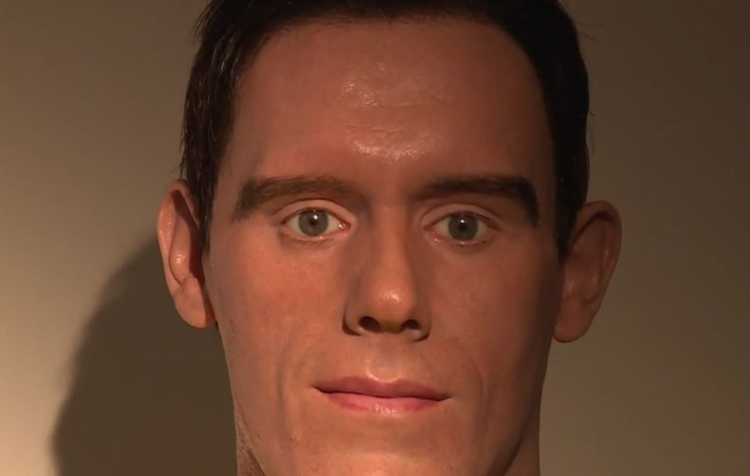 This waxwork of West Brom goalie Ben Foster is terrifyingly awful