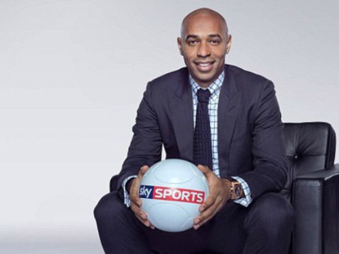 Arsenal legend Thierry Henry owns Gary Neville with incredible £24m Sky Sports salary