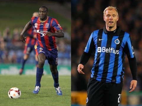 Bolton Wanderers conspire to form the slowest, oldest strike-force in history as Eidur Gudjohnsen and Emile Heskey close on moves
