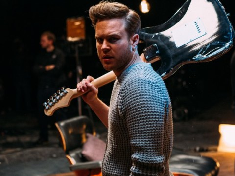 EXCLUSIVE: Olly Murs and Demi Lovato behind the scenes pictures from new music video Up