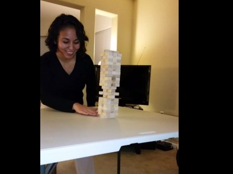 Think you're good at Jenga? You've got NOTHING on this