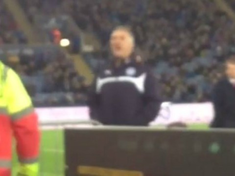 Leicester City boss Nigel Pearson caught telling fan to 'f**k off and die' during match