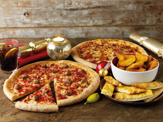 Back By Popular Demand The Papa Johns Christmas Dinner