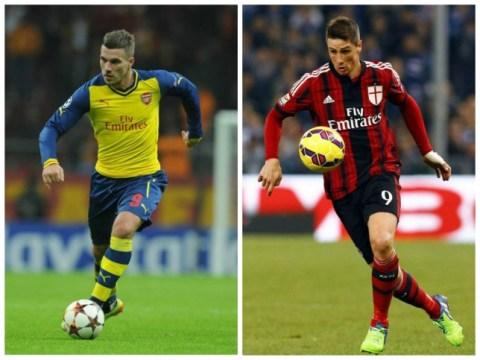 Atletico Madrid 'eyeing up transfer for Arsenal's Lukas Podolski and Chelsea's Fernando Torres'