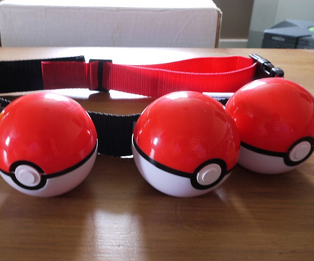 All your childhood dreams have come true, you can now buy a Pokemon Poke Ball belt