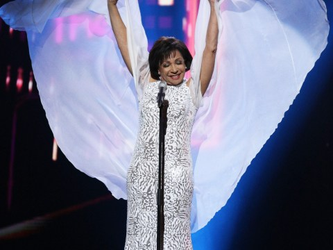 Shirley Bassey wore a cape at the Royal Variety performance and it was flawless