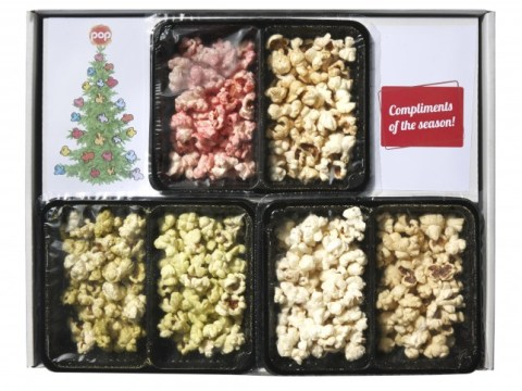 The easiest festive lunch ever? Christmas dinner popcorn