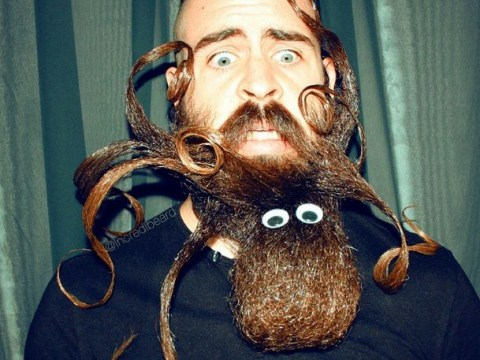 Starting to get post-Christmas blues? This epic beard art will cheer you up no end