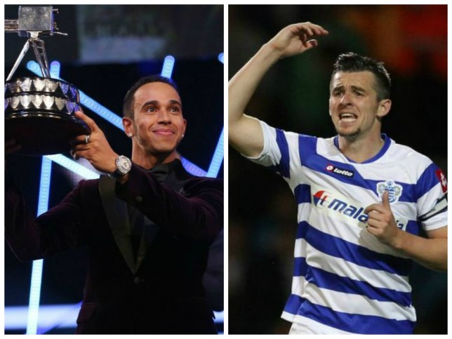 Not worthy: Barton disputes Hamilton's SPOTY prize (Picture: PA)
