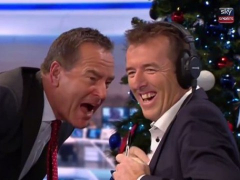 Jeff Stelling breaks microphone while celebrating Hartlepool goal live on Soccer Saturday