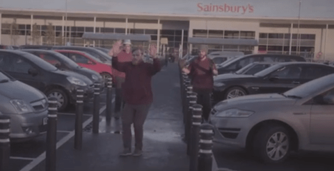 Jokers spoof Sainsbury's WW1 Christmas advert with this amazing parody