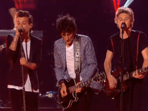 One Direction smash The X Factor Final with exclusive track Where Do Broken Hearts Go (oh, and Ronnie Wood was there too)