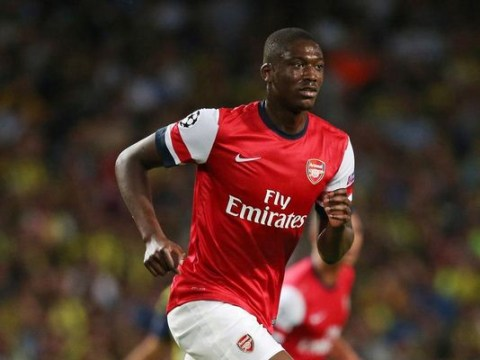 Arsenal striker Yaya Sanogo nears Bordeaux loan switch in January transfer window