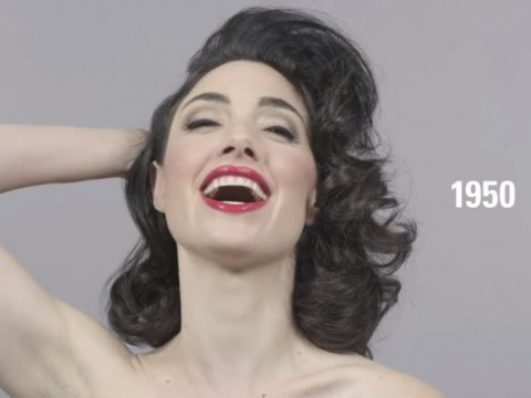 Time-lapse video shows how beauty has changed over 100 years, in just one minute