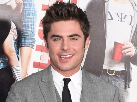 Zac Efron's manhood is 'handsome' and 'veiny' according to co-star Adam DeVine