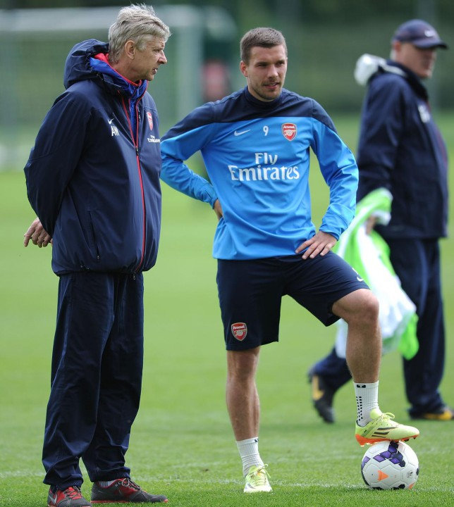 Lukas Podolski should look at himself before criticising Arsene Wenger, says Lothar Matthaus